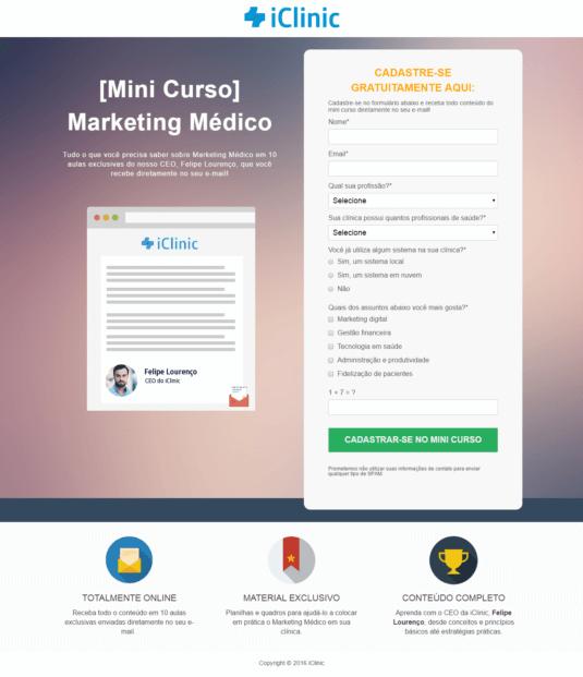 Caso de Éxito Inbound Marketing iClinic